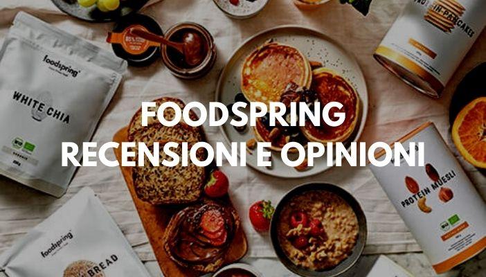 FOODSPRING OPINIONI E RECENSIONI
