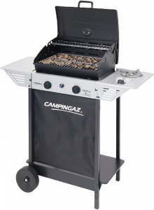 barbecue a gas con pietra campignazlavica